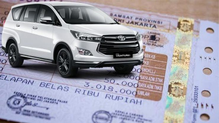 Daftar Pajak Mobil Toyota Fortuner