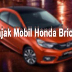 Pajak Mobil Honda Brio Terbaru
