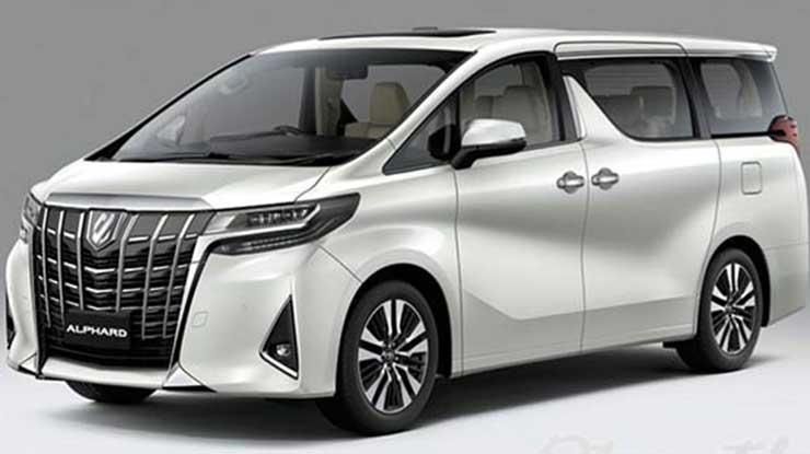 Pajak Mobil Toyota Alphard