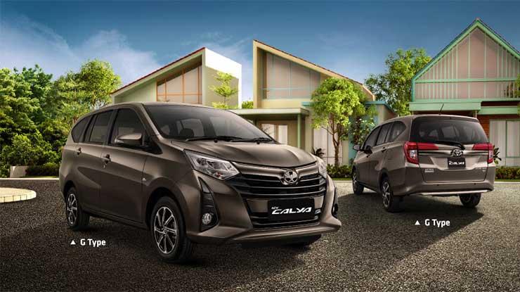 25 Pajak Mobil Toyota Calya Semua Tahun Terlengkap 2021