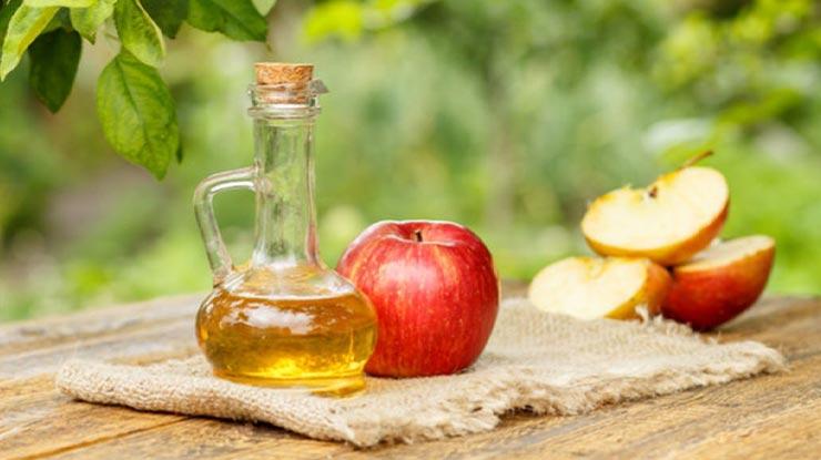 Menggunakan Cuka Apel