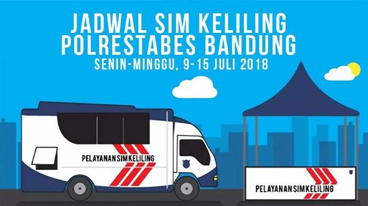 Jadwal SIM Keliling Bandung Terlengkap Dan Terbaru