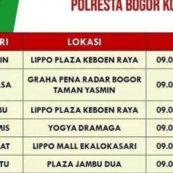 Jadwal SIM Keliling Bogor Terlengkap dan Terbaru
