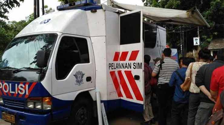 Jam Operasional SIM Drive Thru Daerah Jombang