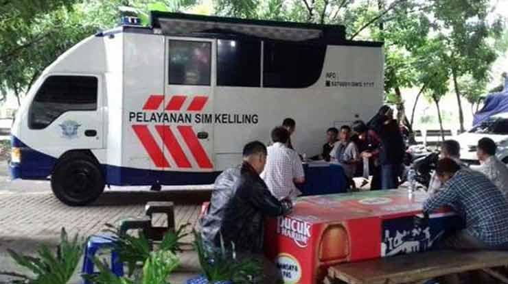 Jam Operasional SIM Keliling Purwokerto