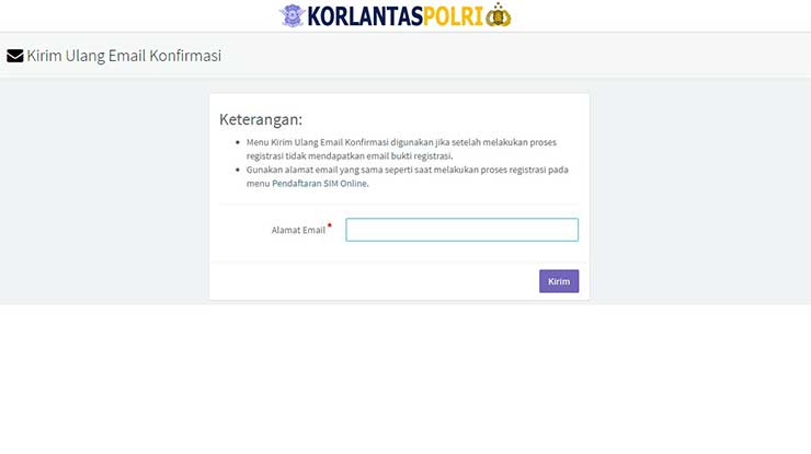 Masukkan email