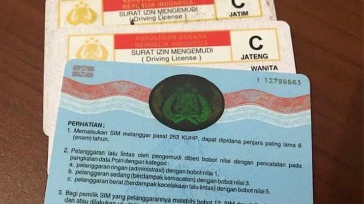 Tahap Pembuatan SIM C