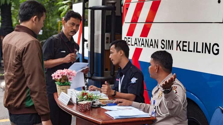 Biaya Pelayanan SIM Drive Thru