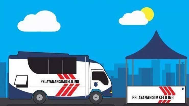 Jadwal SIM Keliling Banjarbaru Untuk Hari Ini Beserta Alamat Lengkap Biaya Pelayanan