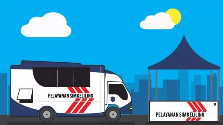 Jadwal SIM Keliling Jakarta Timur Untuk Hari Ini Disertai Alamat Lengkap Biaya Pelayanan