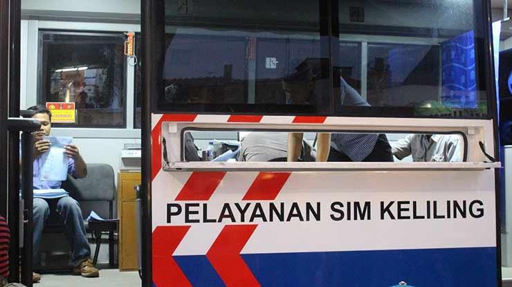 Jam Operasional SIM Drive Thru Bantul