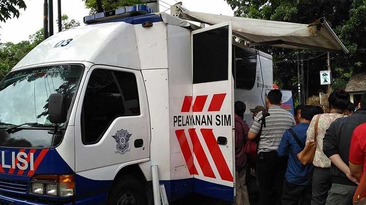 Jam Operasional SIM Drive Thru Daerah Indramayu