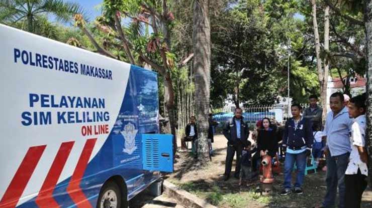 Jam Operasional SIM Drive Thru Makassar