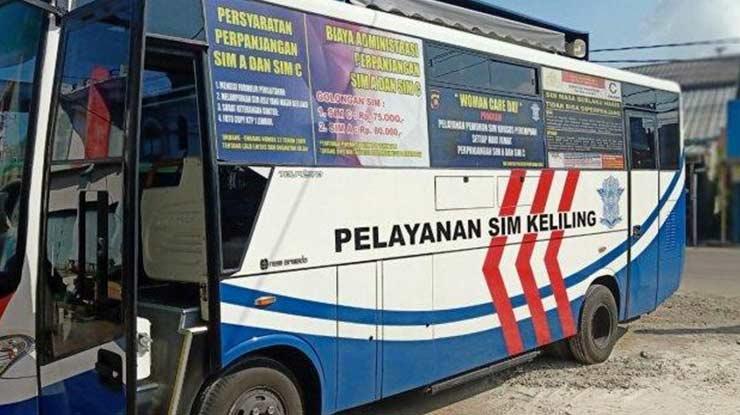 Jam Operasional Samsat Keliling Daerah Pontianak