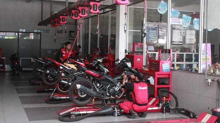 Biaya Service Motor Yamaha Di Bengkel Resmi