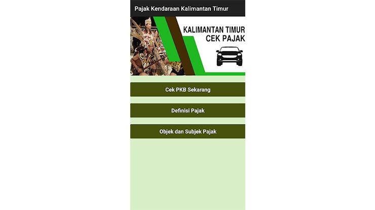 Cara Memeriksa Pajak Kalimantan Timur via Aplikasi