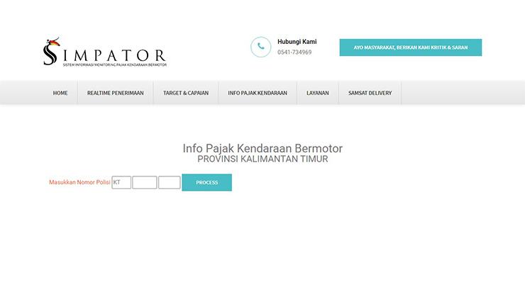 Cara Memeriksa Pajak Kalimantan Timur via Website