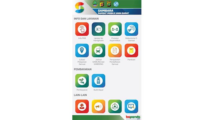 Cek Pajak Mobil Jabar Melalui Aplikasi SAMBARA