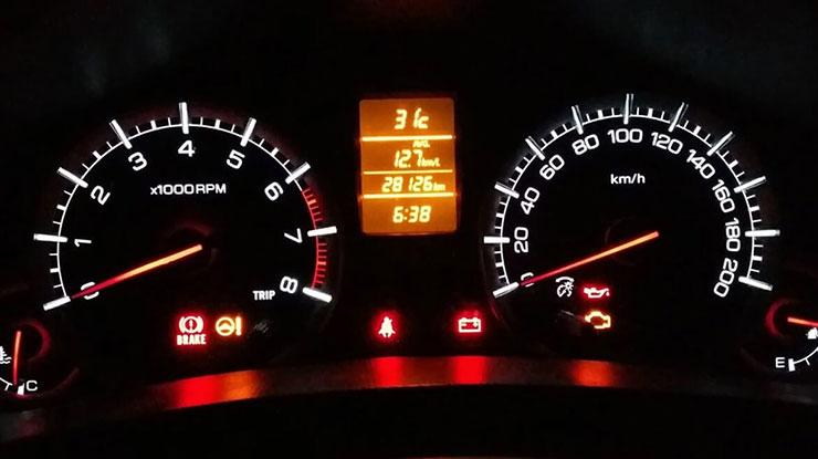 Memperhatikan RPM Mobil