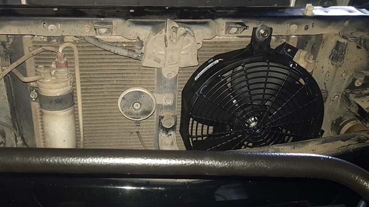 Menambah Ekstra Kipas Kondensor AC Mobil