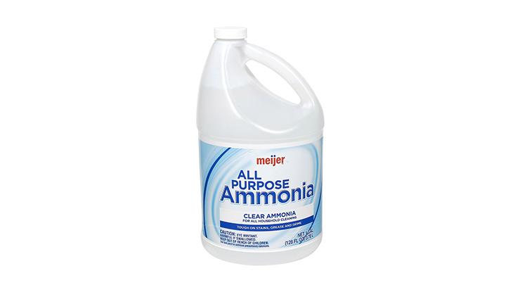Menggunakan Cairan Amonia