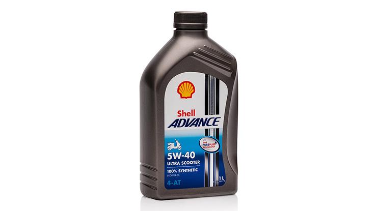 Oli Shell Advance Ultra Scooter 4T