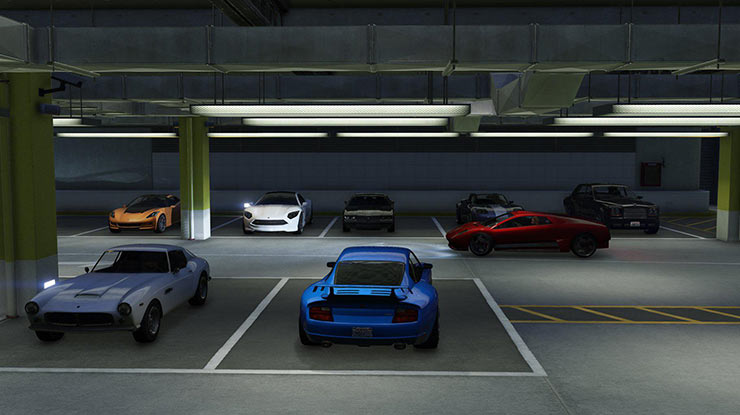 Parkir Pada Tempat Teduh