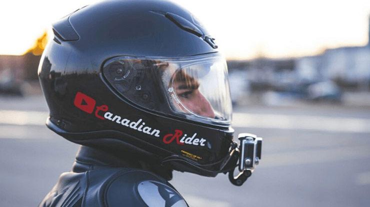 Cara Pasang Action Cam di Helm
