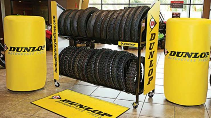 Kelebihan dan Kekurangan Ban Motor Dunlop