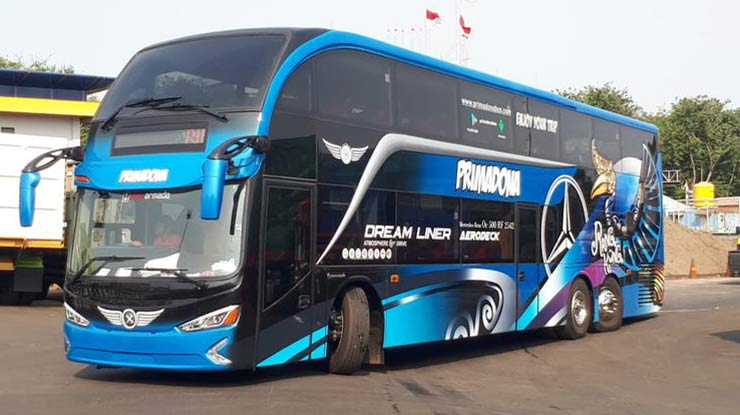 11 Karoseri Bus New Armada