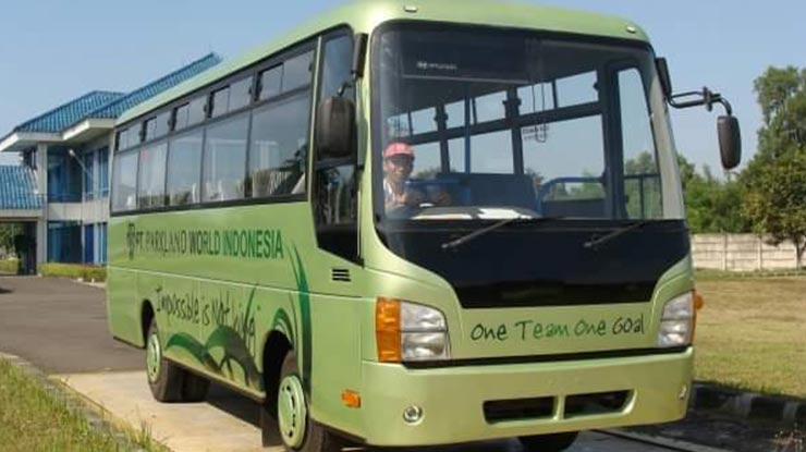 Macam Karoseri Bus Korindo di Indonesia