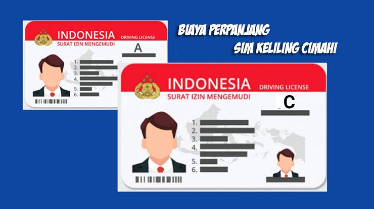 Biaya Perpanjang SIM Keliling Cimahi