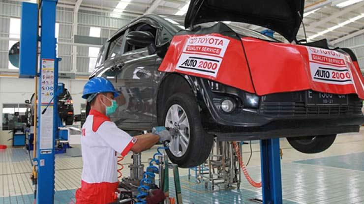 Biaya Service Mobil Toyota 40.000 km