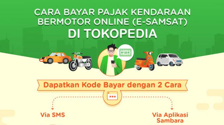 Cara Mendapatkan Kode Bayar Pajak Motor Online