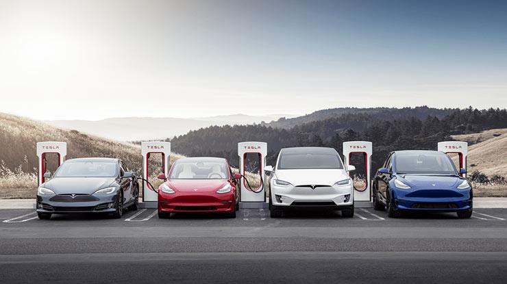 Daftar Harga Mobil Tesla di Dunia