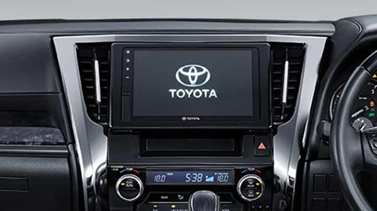 Fitur Hiburan Mobil Toyota