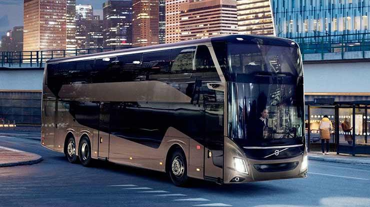 Karoseri Bus Volvo 9700