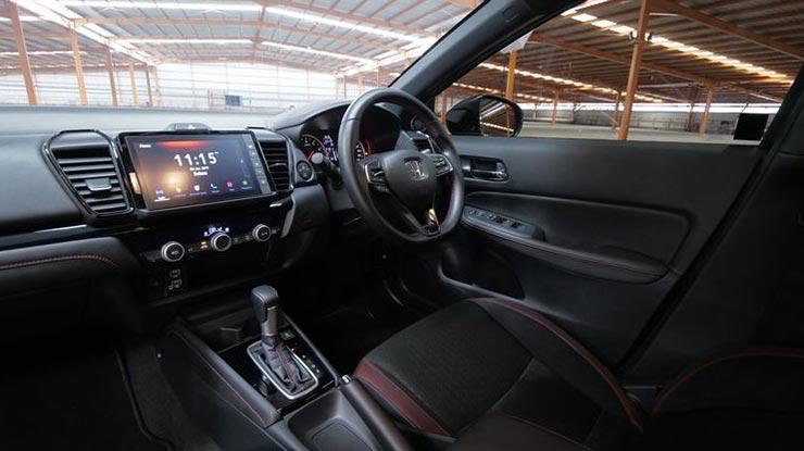 Interior Honda City Hatchback RS