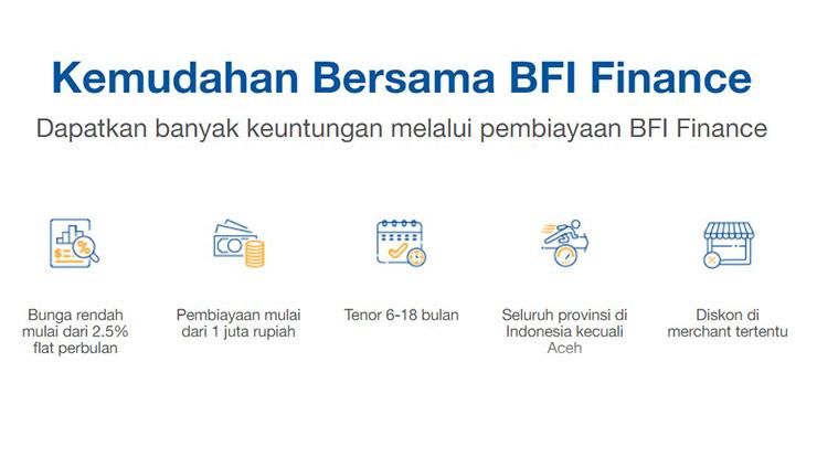 Keuntungan Gadai BPKB Motor di BFI Finance