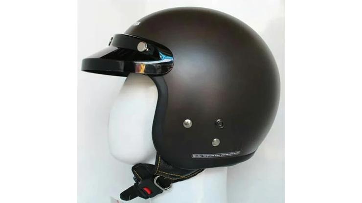 Logo Pada Kancing Helm