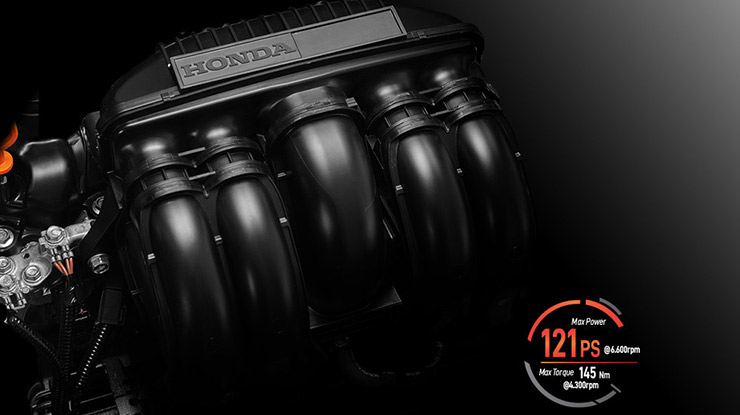 Mesin Honda City Hatchback RS