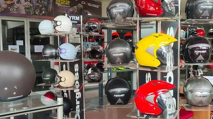 Perbedaan Helm Cargloss Ori dan KW