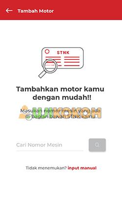 2. Cari Nomor Mesin Motor Honda Booking Online