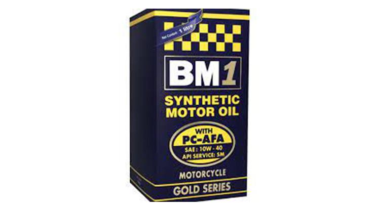 6. BM1 Gold Series 10W 40