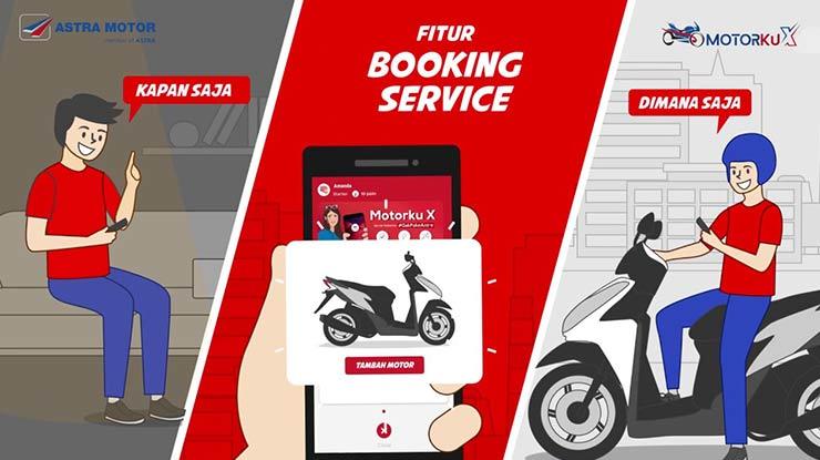 Cara Booking Service Motor Honda Online