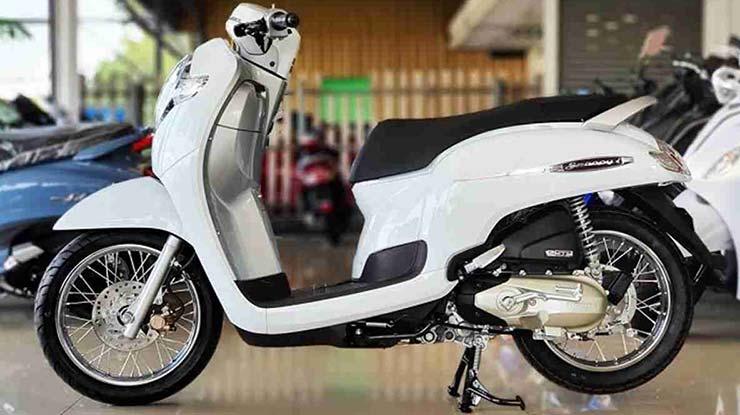 Desain Motor Honda Scoopy