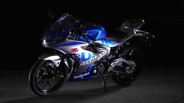 Desain Motor Suzuki Sport