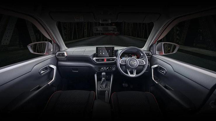 Interior Daihatsu Rocky