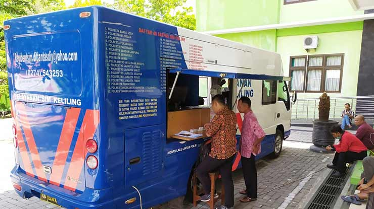 Jam Operasional SIM Keliling Bandar Lampung
