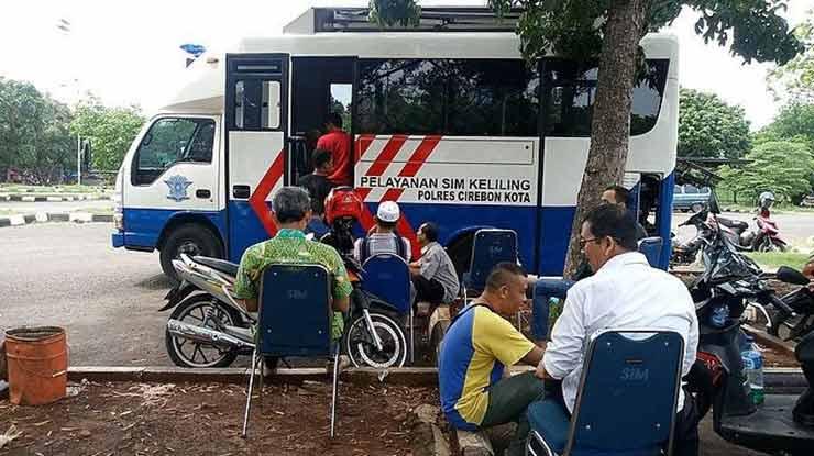 Biaya Perpanjang SIM Keliling Cirebon